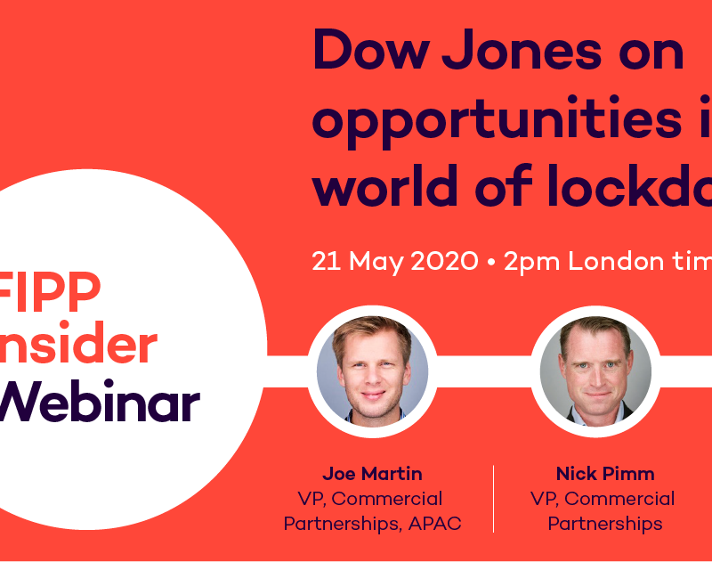 Dow Jones on opportunities and challenges for publishers in lockdown