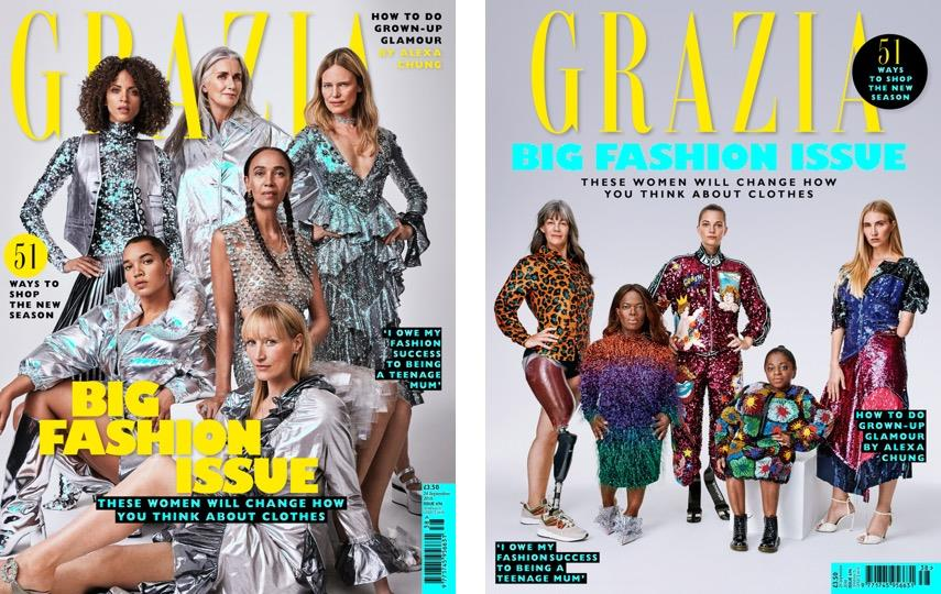 Bauer Media S Grazia Mag To Publish Covers Challenging Issues Of Diversity And Inclusion In Fashion Fipp
