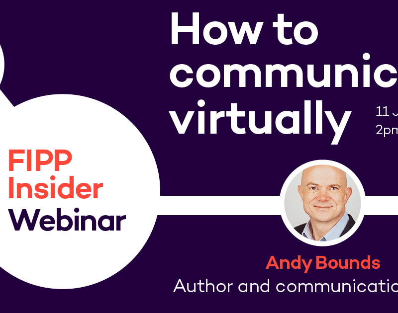 How to communicate virtually, brilliant with Andy Bounds