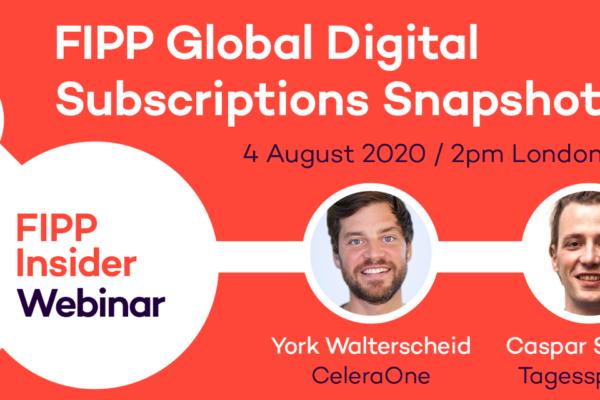 Global Digital Subscriptions Snapshot August 2020