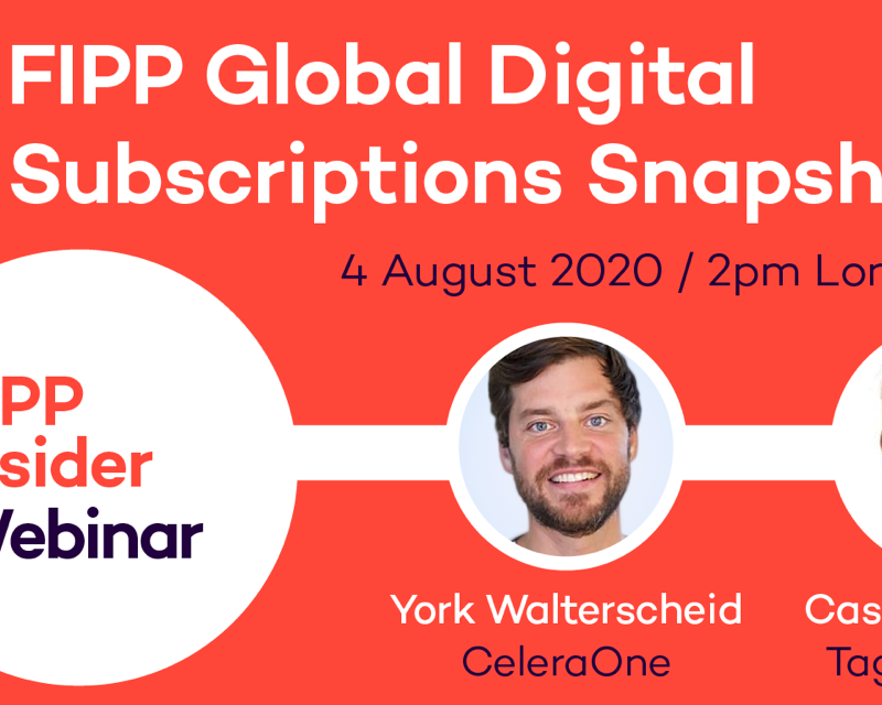 Global Digital Subscriptions Snapshot August 2020