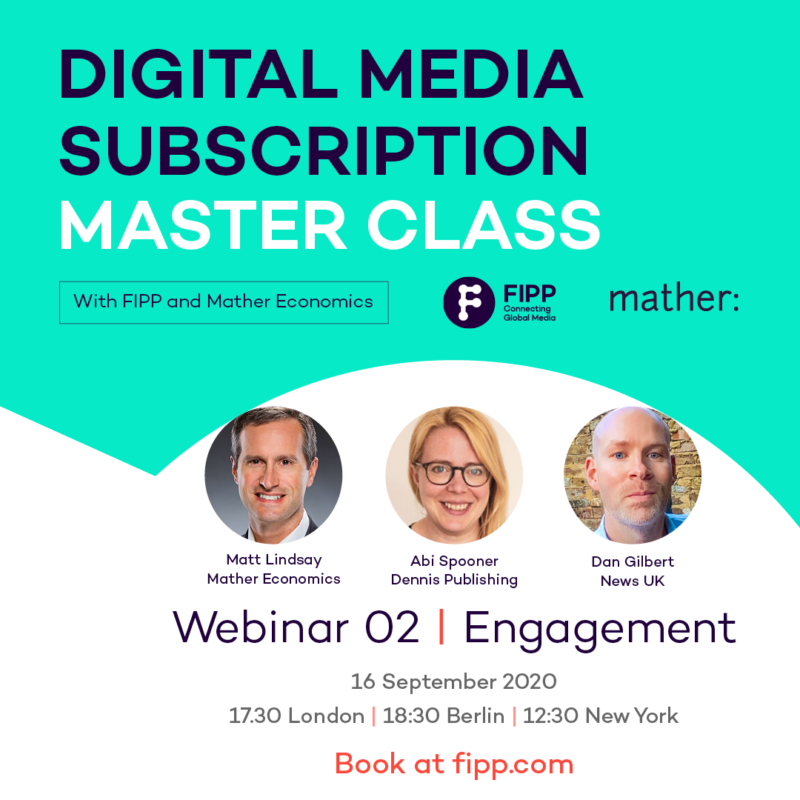 Digital Media Subscription Master Class: Engagement