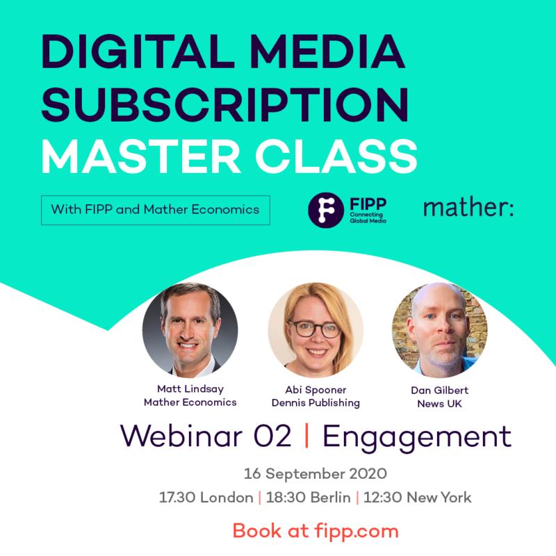 Digital Media Subscription Master Class: Engagement