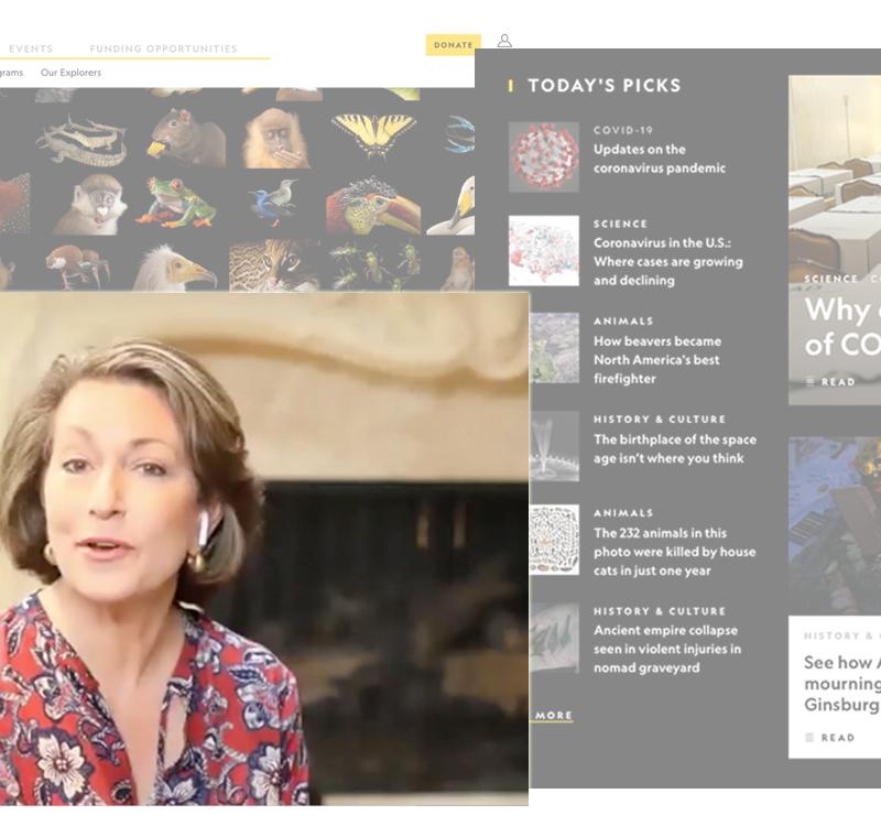 Editor-in-Chief Susan Goldberg shares principles behind NatGeo stories