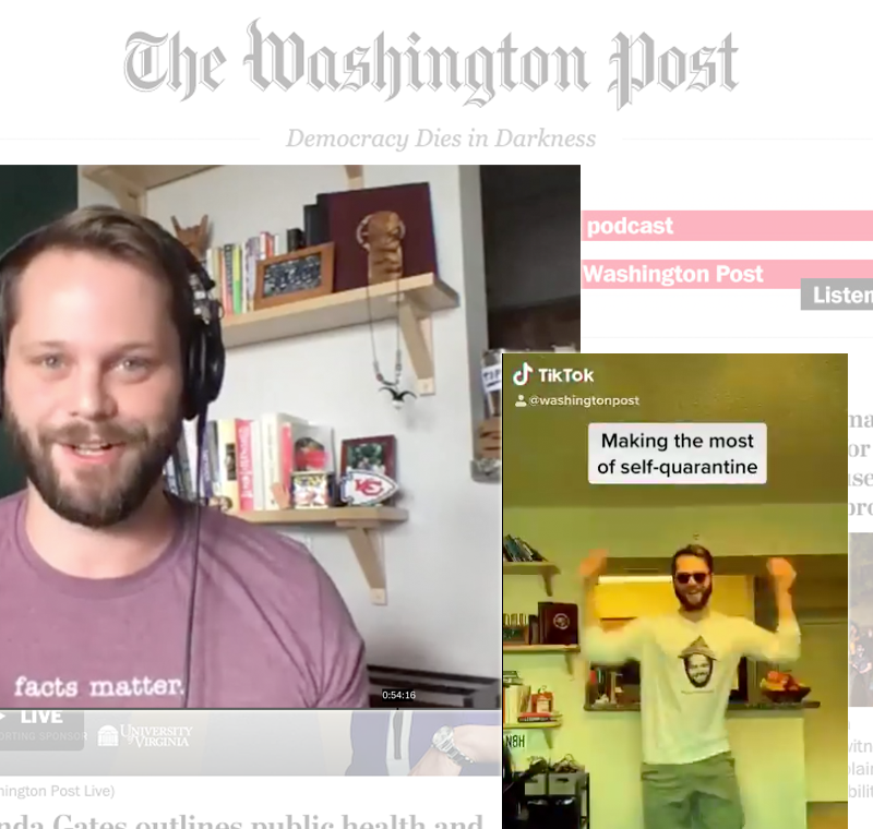 How The Washington Post became a TikTok hit