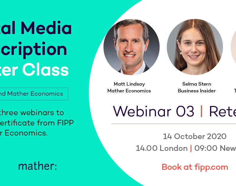 Digital Media Subscription Master Class 3: Retention, The Economist