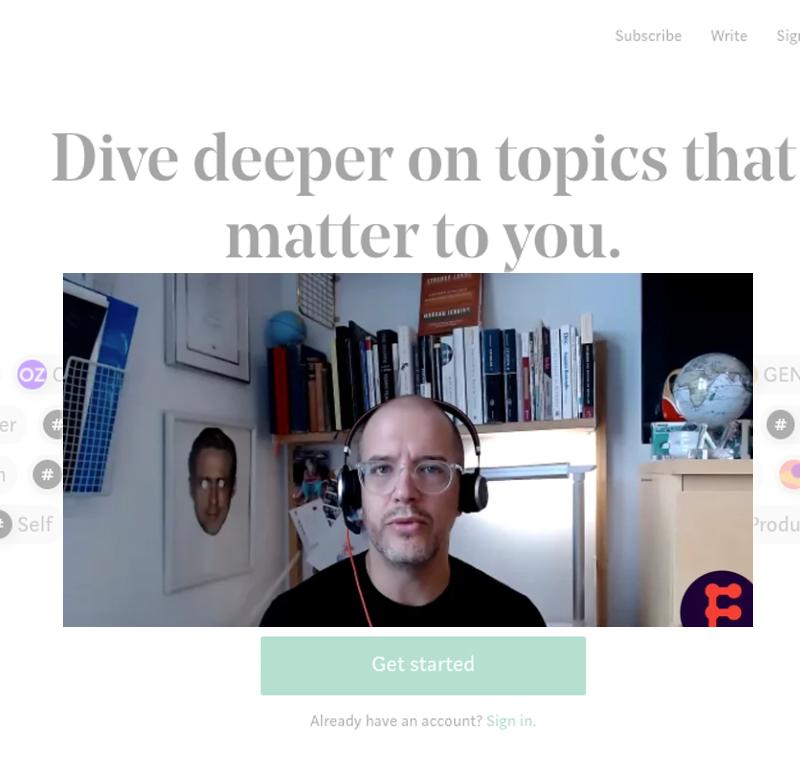 Medium's Scott Lamb looks at the trends driving digital platforms and media