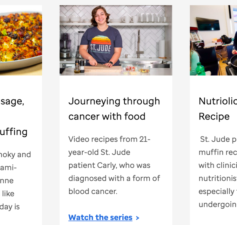 Allrecipes launches multi-platform initiative to raise awareness of childhood cancer and other life-threatening diseases
