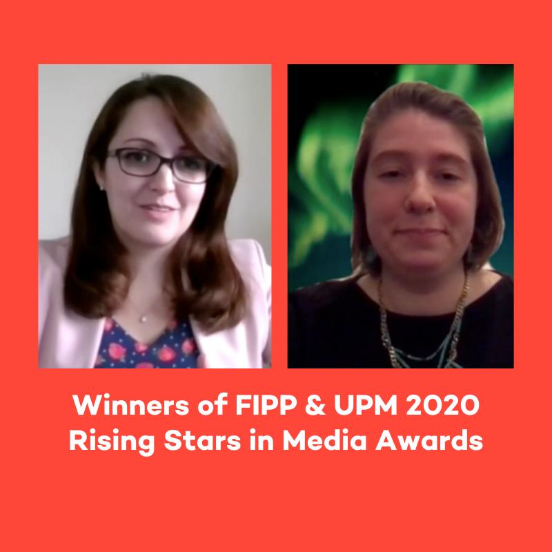 Winners of FIPP & UPM 2020 Rising Stars Awards