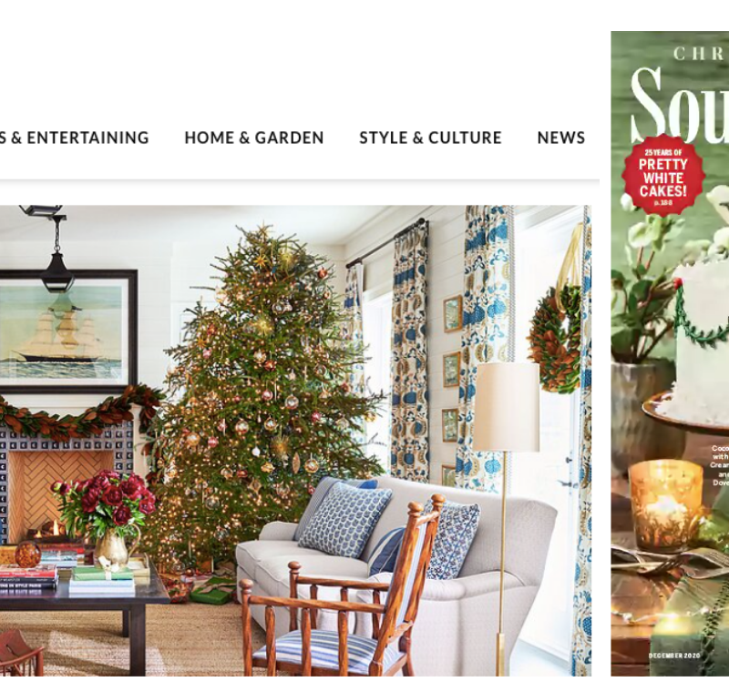 Meredith Corp reports ad revenue up 51 per cent for Southern Living's December issue