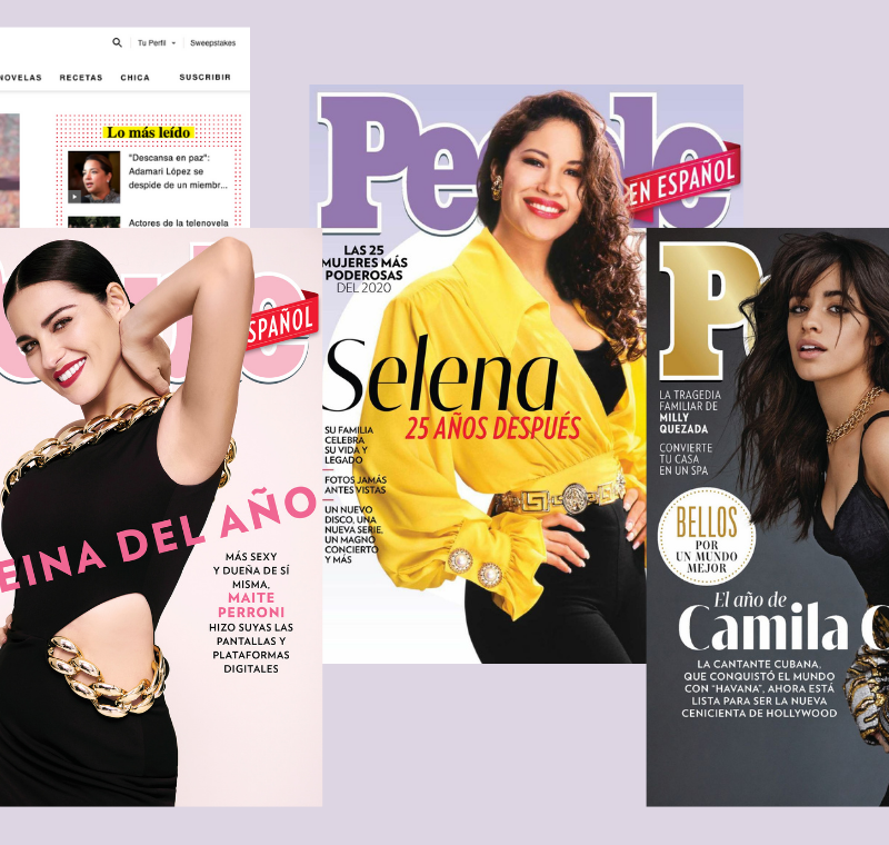 The Mr. Magazine™ Interview: Monique Manso, Publisher and Armando Correa, EIC, People en Español