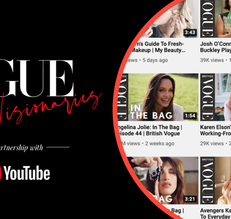 British Vogue and YouTube launch Vogue Visionaries